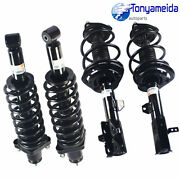 Shocks Absorbers Kit + Quick Complete Struts Assembly For Jeep Patriot 2007-2015