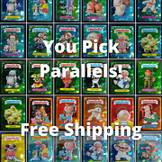 You Pick Topps Chrome Garbage Pail Kids Sapphire Gpk Parallels Free Shipping