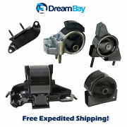 1990-1992 For Toyota Corolla 1.6l Fwd Engine Motor And Trans Mount 5pcs For Manual