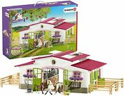 Schleich Riding Centre With Rider And Horses 42344 Schleich Horse Club Set