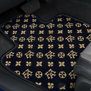 For Lexus Hs250h 12 Fashion Auto Mat Carpeted 1st And 2nd Row Onyx Floor Mats