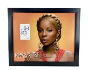 Mary J. Blige Autographed Signed 16x20 Photo Poster Display Acoa