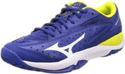 Mizuno Tennis Shoes Wave Flash Oc 61gb1945 Blue X White X Yellow