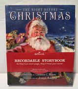 Hallmark Recordable Storybook The Night Before Christmas 2009 Hardcover Sold Out