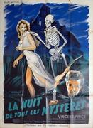 House On Haunted Hill - Vincent Price - Original Large French Movie Poster