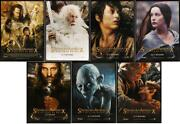 Lord Of The Rings Return Of The King - Bus Shelter Character Movie Poster