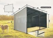 Tmg Industrial Livestock Shed - New In Box 12 By 20 Metal Building Shed