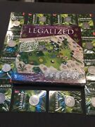 .999 Silver 12 States 1 Oz Rounds Legalized Complete Set Antique Map And Coa Rare