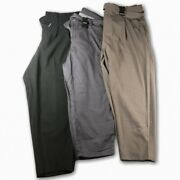 Lot Of 3 Nwt Torrid Pants Size 20 Black Pants Grey Twill Tie And Grey Tie Front