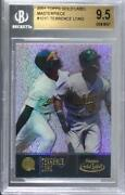 2001 Topps Gold Label Masterpieces Class 3 1/1 Terrence Long 101 Bgs 9.5