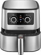 Insignia - 5-qt. Analog Air Fryer - Stainless Steel