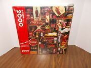 Springbok The Coca-cola Centennial Jigsaw Puzzle Coke Is It 2000 Pc Sealed