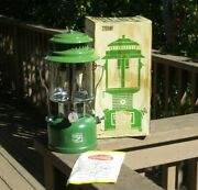 Vintage Camping Backpacking Lamp Lantern Roddy Double Mantle W/ Box