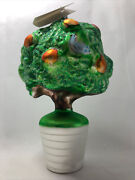 Christopher Radko 1993 Partridge In A Pear Tree Ornament, 1476/5000 Signed