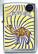 Rare 1998 Joe Camel Swirl Zippo Unopened/unfired With Tin And Camel Filters Sleeve