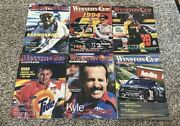 Winston Cup Illustrated Magazine 1995 January-july Lot Of 6 Missing April