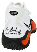Barry Sanders Signed Nike Air Zoom White Osu Shoe Right Foot W/ht'88 - Ss Coa