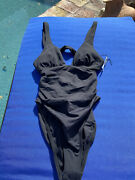 L Space Sydney Ruched One-piece Swimsuit New Size 4 1036 189