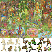 Davici Wooden Whimsy Jigsaw Puzzle. Fairy Tea Party 350 Pcs.