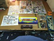 Lot18 Ho Scale Athearn S.p. Enginesouthern Car4 Big Sets Train Signs