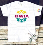 Bwia International Retro Logo T-shirt 100 Retro Size Smlxlxxl