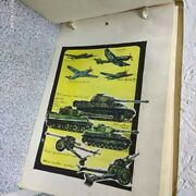 Soviet Sketchbook With Military Equipment, Tanks, Airplanes, Artillery. Ussr