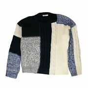 Nwt Pierre Balmain Cotton And039knitwear Multiand039 Sweater Size 54 1150