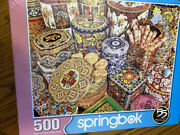 Springbok Cookie Tins By Kelly Daniels 500 Pc Jigsaw Puzzle