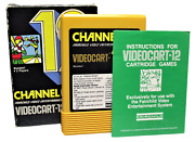 Boxed Channel F Videocart Fairchild Video Entertainment System 12 Baseball