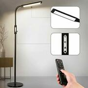 Led Floor Lamp Remote Control Andamp Touch Floor Lamps For Living Room Black