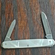 Sta Sharp Knife Made In Usa 1930s For Sears By Camillus Vintage Folding Pocket