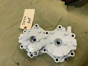 Evinrude Cylinder Head 318331 Port For V4 X-flow Early Models. Used / Good Condi