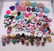 Lol Surprise Doll Lot Dolls Clothes Shoes Pet Baby Wig Hair Bottles Accessories