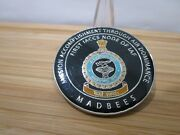 Indian Air Force Air Force Station Barnala India Iaccs System Challenge Coin.