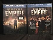 Boardwalk Empire - First And Second Season 1 And 2 Dvd - Hbo - New / Sealed
