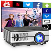Smart Fhd Android Wifi Bt Video Projector 1080p Heimkino Theatre Cinema Airplay