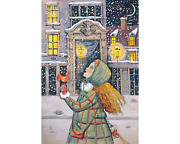 Davici Wooden Whimsy Jigsaw Puzzle. Delicious Snow 150 Pcs.