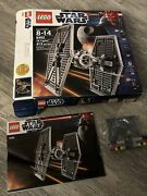 Lego 9492 Star Wars Tie Fighter / Episode Iv 2012 Instruction Manual Box Parts