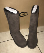 Ugg Australia Womenand039s 10162 Classic Tall Ii Boots Chocolate Brown Size 7