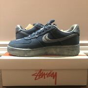 Stussy Air Force 1 Hand Dyed Tokyo - Size 10.5 1/50