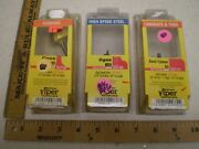 Lot Of 3 Oldham Viper 344 173 585 Router Bits Cove Bevel Trimmer Ogee H50