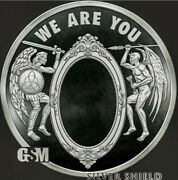 2020 1 Oz .999 Pure Silver Shield Proof We Are You Members Only Round Coin Coa