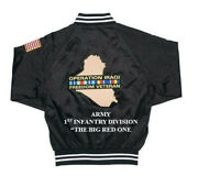 Operation Iraqi Freedom 1st Infantry Division Army 2-sided Jacket Embroidered