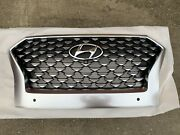 2021 Hyundai Palisade Calligraphy Grille With Parking Holes 86350s8ba0 New Genui