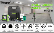 Green 12 Lines 3d Cross Line Laser Level Self-leveling 360 Vertical And Horizontal