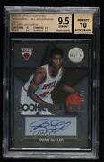 2012 Totally Certified Roll Call Gold /25 Jimmy Butler 73 Bgs 9.5 Rookie Auto