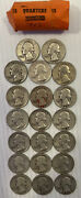 Roll Of 20 Quarters Years 1942-43 As