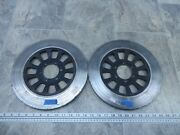1980 Yamaha Xs1100 Xs Eleven Y591-3. Front Brake Rotors Discs Left Right
