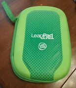 Leapfrog Leappad Ultra Green Game Carrying Case 7x,10 Zippered With Handle