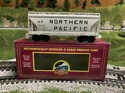🚂mth Premier Northern Pacific 2 Bay Centerflow Covered Hopper Car 20-97869